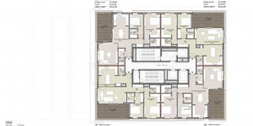 Seba Suites Kat ve Daire Plan Resimleri-15