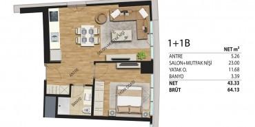 Deluxia Park Residence Kat ve Daire Plan Resimleri-8