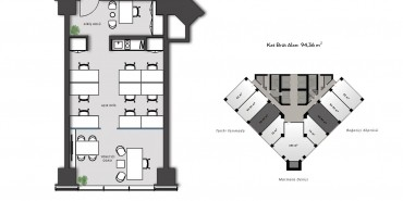 Nurol Tower Kat ve Daire Plan Resimleri-2