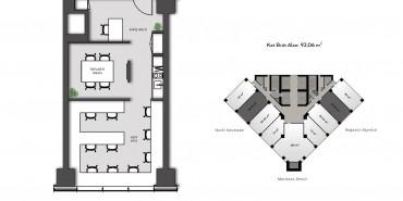 Nurol Tower Kat ve Daire Plan Resimleri-3