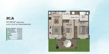 Sur Yapı Gölbahçe Evleri Kat ve Daire Plan Resimleri-16
