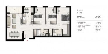 Nurol Park Kat ve Daire Plan Resimleri-36
