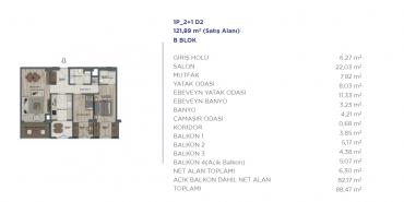 Sur Yapı Semt  Bahçekent Kat ve Daire Plan Resimleri-28