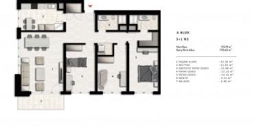 Nurol Park Kat ve Daire Plan Resimleri-10