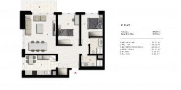 Nurol Park Kat ve Daire Plan Resimleri-27