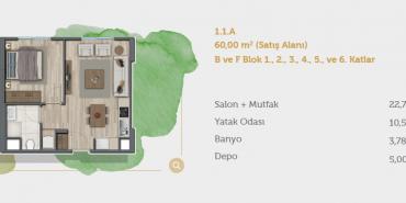 Sur Yapı Muhit Sancaktepe Kat ve Daire Plan Resimleri-10
