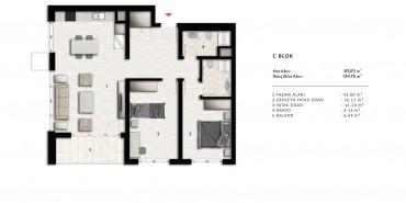 Nurol Park Kat ve Daire Plan Resimleri-18