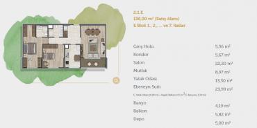 Sur Yapı Muhit Sancaktepe Kat ve Daire Plan Resimleri-15