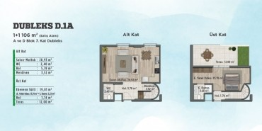 Sur Yapı Gölbahçe Evleri Kat ve Daire Plan Resimleri-22