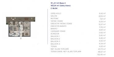 Sur Yapı Semt  Bahçekent Kat ve Daire Plan Resimleri-16