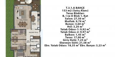 Sur Yapı Lavender Sancaktepe Kat ve Daire Plan Resimleri-21