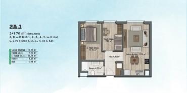 Sur Yapı Gölbahçe Evleri Kat ve Daire Plan Resimleri-21