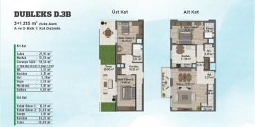 Sur Yapı Gölbahçe Evleri Kat ve Daire Plan Resimleri-7