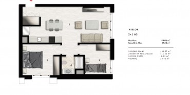 Nurol Park Kat ve Daire Plan Resimleri-38