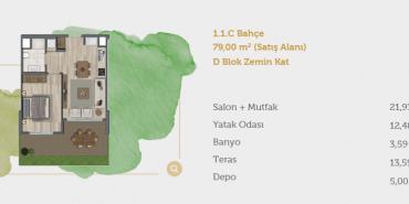 Sur Yapı Muhit Sancaktepe Kat ve Daire Plan Resimleri-6