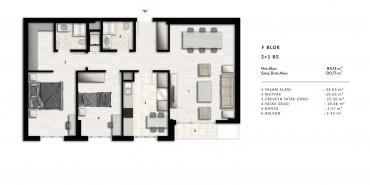 Nurol Park Kat ve Daire Plan Resimleri-31