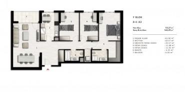 Nurol Park Kat ve Daire Plan Resimleri-32