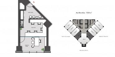 Nurol Tower Kat ve Daire Plan Resimleri-1