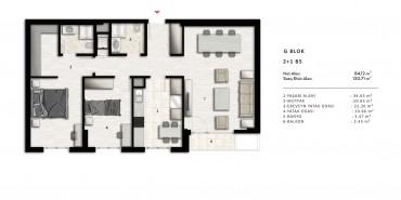 Nurol Park Kat ve Daire Plan Resimleri-35