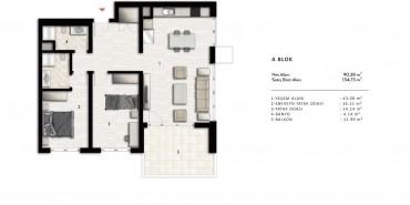 Nurol Park Kat ve Daire Plan Resimleri-4