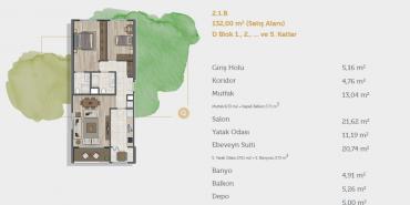 Sur Yapı Muhit Sancaktepe Kat ve Daire Plan Resimleri-16