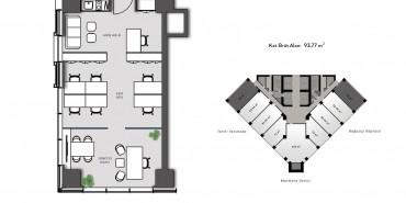 Nurol Tower Kat ve Daire Plan Resimleri-4