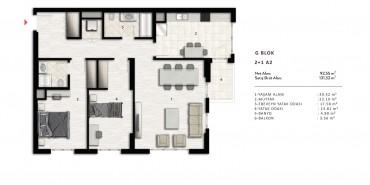 Nurol Park Kat ve Daire Plan Resimleri-34