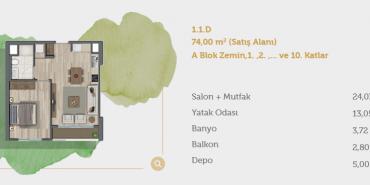 Sur Yapı Muhit Sancaktepe Kat ve Daire Plan Resimleri-7