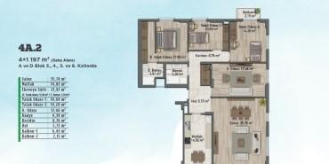 Sur Yapı Gölbahçe Evleri Kat ve Daire Plan Resimleri-5