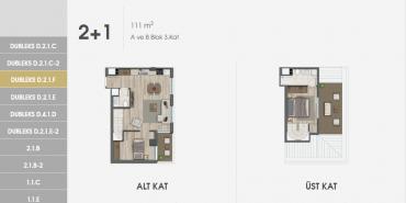 Sur Yapı Excellence Kat ve Daire Plan Resimleri-18