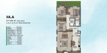 Sur Yapı Gölbahçe Evleri Kat ve Daire Plan Resimleri-9