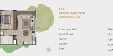 Sur Yapı Muhit Sancaktepe Kat ve Daire Plan Resimleri-5