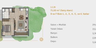 Sur Yapı Muhit Sancaktepe Kat ve Daire Plan Resimleri-8