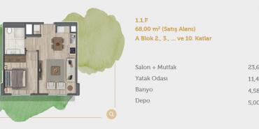 Sur Yapı Muhit Sancaktepe Kat ve Daire Plan Resimleri-9