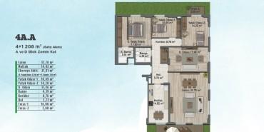 Sur Yapı Gölbahçe Evleri Kat ve Daire Plan Resimleri-3
