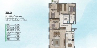 Sur Yapı Gölbahçe Evleri Kat ve Daire Plan Resimleri-11