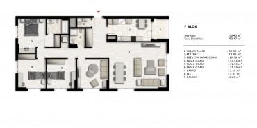 Nurol Park Kat ve Daire Plan Resimleri-33