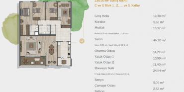 Sur Yapı Muhit Sancaktepe Kat ve Daire Plan Resimleri-30
