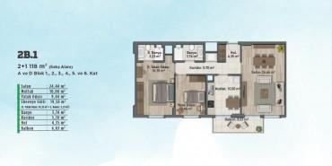 Sur Yapı Gölbahçe Evleri Kat ve Daire Plan Resimleri-18