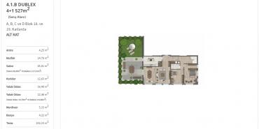 Sur Yapı Yeşil Mavi Kat ve Daire Plan Resimleri-30