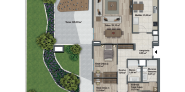 Sur Yapı Bahçeyaka Ispartakule Kat ve Daire Plan Resimleri-54